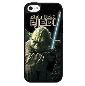 Colorful Retro Yoda Jedi Master Art Hard Snap on Phone Case (iPhone 5c)