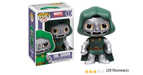 Funko POP Marvel Bobble Figurine Dr Doom: Amazon.es: Juguetes y juegos