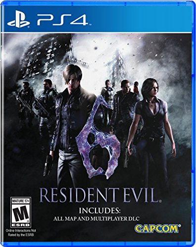 [Resident Evil 6 - PlayStation 4] (Re6 Costumes Dlc)