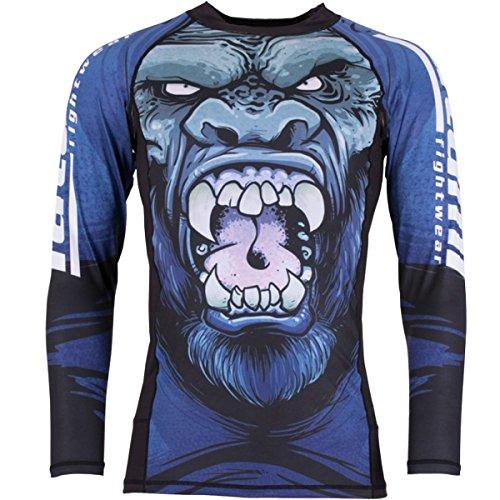 - Tatami Gorilla Smash Long Sleeve BJJ Rashguard - Medium