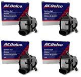 Four  OEM ACDelco Ignition Coils D585 10457730 UF262 C125...