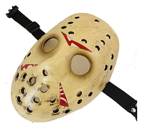 Amazon.com: YUONE Friday The 13th Prop Replica - Máscara de ...