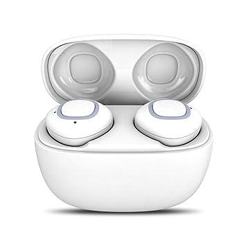 SamMoSon 2019 Auriculares Beats Boton Bluetooth Bose Mini Auriculares Inalámbricos,Auriculares Estéreo Deportivos con Mini Auriculares Inalámbricos ...