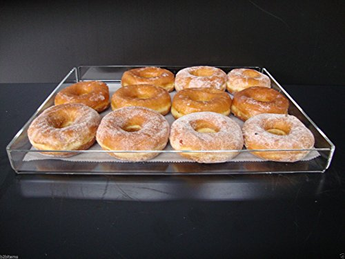 Displays2buy Acrylic Pastry Bakery Donut Bagels Cookie Display Case w/5 trays by Displays2buy (Image #7)