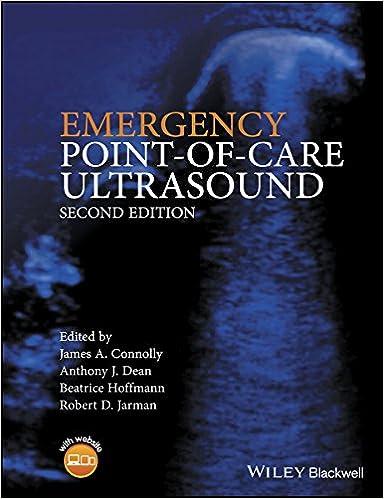 Emergency Point-of-care Ultrasound por Jim Connolly epub