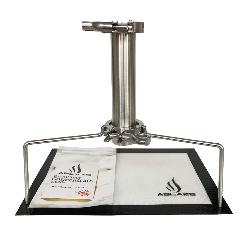 ABLAZE Stainless Steel Open End Tube 45 Gram with Tripod by Ablaze (Image #1)