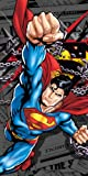 Superman ''Daily News'' Beach Towel 30''x60''