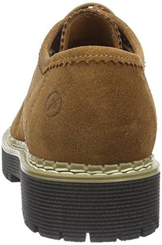 Bronx Rent 65745-B - Zapatos de cordones para mujer Marrón (Mid Brown 21)