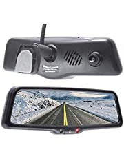 """Master Tailgaters 10"""" IPS LCD Rear View Mirror with 1080p DVR 140° Built-in Dash Cam, Superior Night Mode, G-Sensor, Parking Mode, Wi-Fi Mobile Playback + 1080p Backup Camera (MR-10-M2DVR4)"""