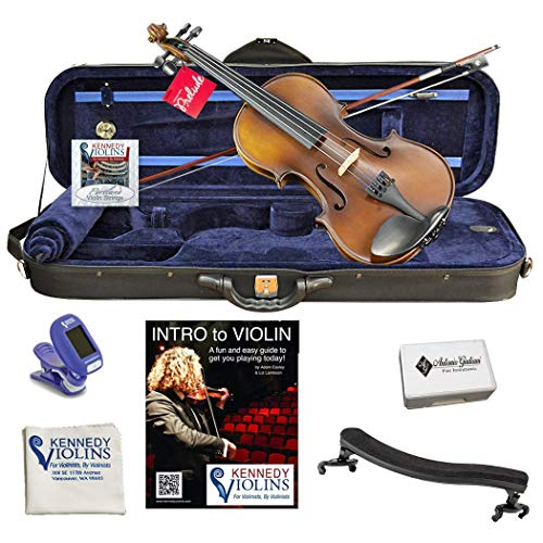Ricard Bunnel G2 Student Violin Outfit 3/4 Size (Best Rated Violin Brands)