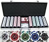 13.5g 500pc ''Ultimate Poker'' Chip Set