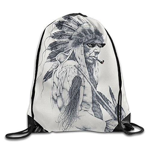 Cheyenne Chief Sunglasses Youth Drawstring Thick Straps Durable Waterproof (Party America Cheyenne)
