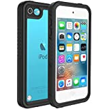 IPod 5 IPod 6 Waterproof Case, Underwater 6.6ft 30minutes Full Body cases, Military grade protective cover for Both Apple iPod Touch 5th & 6th Generation