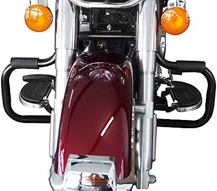 Sturzbügel Für Harley Davidson Fat Boy 2000 2017 Mustache Schwarz Auto
