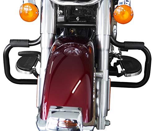 Craftride Engine Guard for Harley Davidson Softail Slim 2012-2017 Mustache black