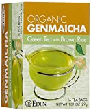 EDEN® ORGANIC GENMAICHA (GREEN TEA W/BROWN RICE) 16 BAGS
