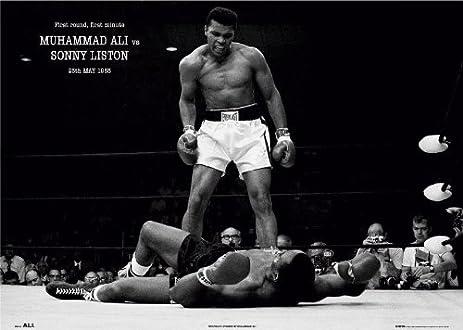 40x60 Huge Muhammad Ali Sonny Liston Poster Picture