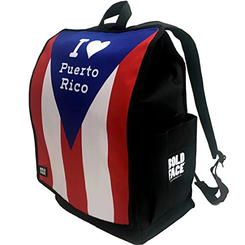 I Love Puerto Rico Backpack by BOLDFACE