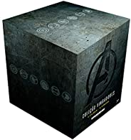 Coleção Vingadores 4 Filmes (9 Discos) [Blu-ray] - Steelbook