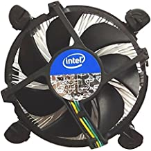 Intel Core i3 / i5 / i7 Socket 1156/1155 / 1151/1150 4-Pin Connector CPU Cooler With Aluminum Heatsink & 3.5-Inch Fan With Pre-Applied Thermal Paste For Desktop PC Computer (TS2)