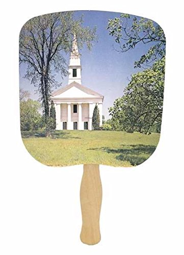 Hand Fan Chapel On Hill Pack of - Chapel Hills The Mall