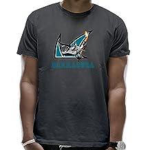 Men's Hockey San Jose Barracuda Logo Cotton DeepHeather T-Shirt