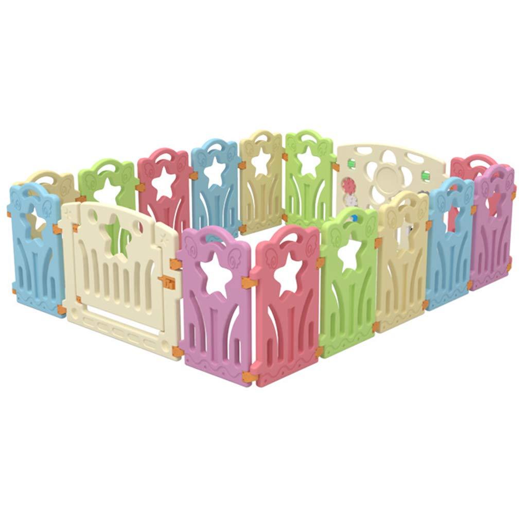ベビーケアフェンス 幼児用安全遊戯場ゲート プレイペンテントホームプレイグラウンド 子供用プレイルーム 飛散防止おもちゃの家 おなかの時間のために   B07RGGYC8J