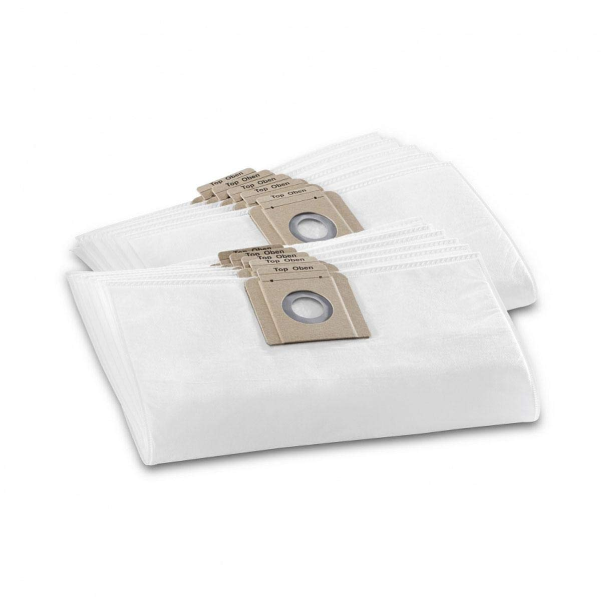 Karcher 3ply Filter Fleece Vacuum Bags T10 & T12 - Pack of 10