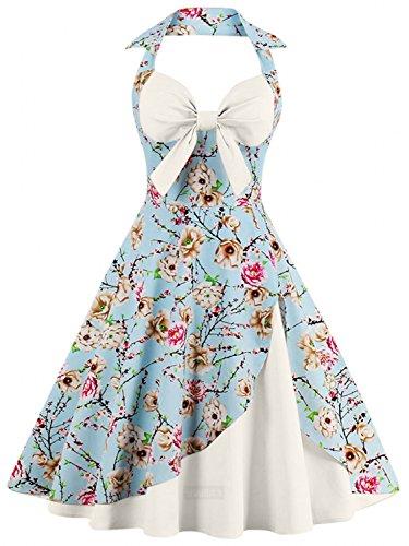 ivory 40s style dress - 4