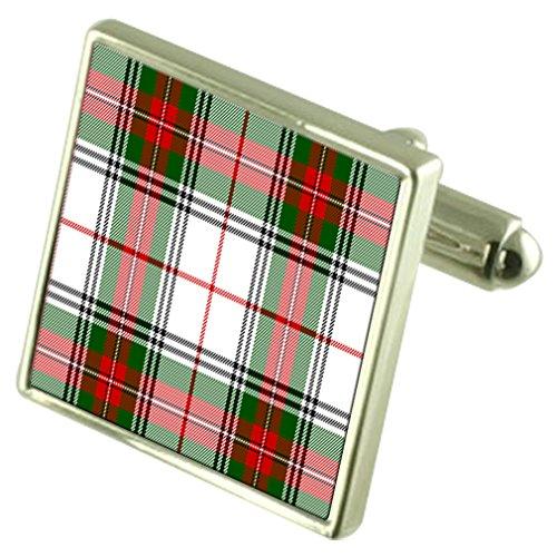 Clan écossais Stuart2 boutons de manchette en cas personnalisé gravé
