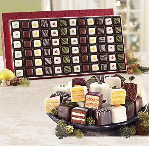 Christmas Petits Fours, Gift of 24 from The Swiss - Petit Le Four