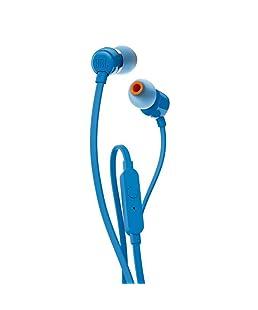 "JBL T110 Dentro de oído Binaurale Alámbrico Azul - Auriculares (Binaurale, Dentro de oído, Azul, Alámbrico, 3.5 mm (1/8""), Intraaural)"