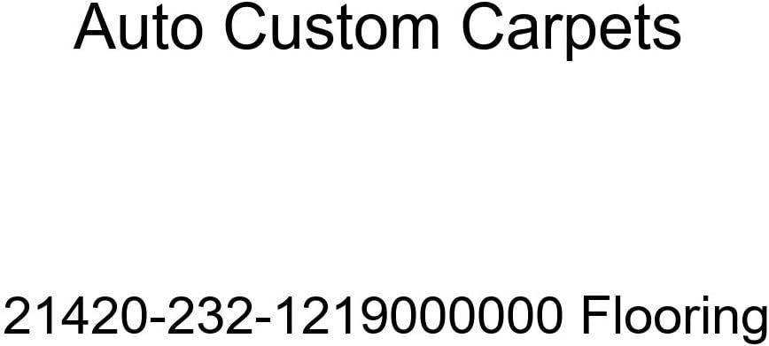 Auto Custom Carpets 21420-232-1219000000 Flooring