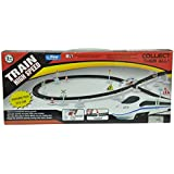 Nyrwana High Speed Metro with flyover Track Battery operated Train (silver)