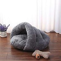 Vabell Herbst und Winter Hundebett Katzenbett Tragbar Katzenschlafsack Teddybär Kleine Hunde