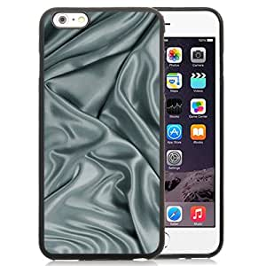 Unique Designed Cover Case For iPhone 6 Plus 5.5 Inch With Fabric Texture Gray Pattern Wallpaper Phone Case