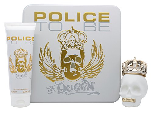 Police To Be The Queen Gift Set 2.5oz (75ml) EDT + 3.4oz (100ml) Body Lotion