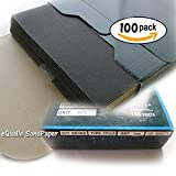 100 of Sandpaper Sheets 9''x11'', Grit: P80 - Abrasive Silicon Carbide Waterproof C-weight Kraft Sanding Paper Electro Coated