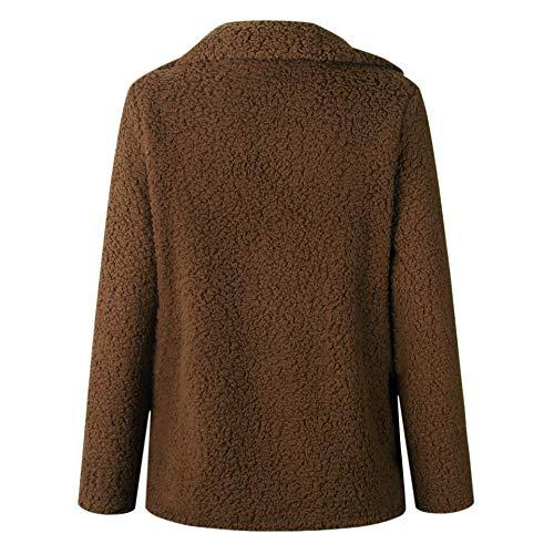 manteau Ziyyoohy femme brune Ziyyoohy brune Ziyyoohy manteau femme manteau brune femme Ziyyoohy wqdgXq5