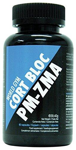 World Gym CORT BLOC-ZMA - 60 cáps.: Amazon.es: Salud y cuidado personal