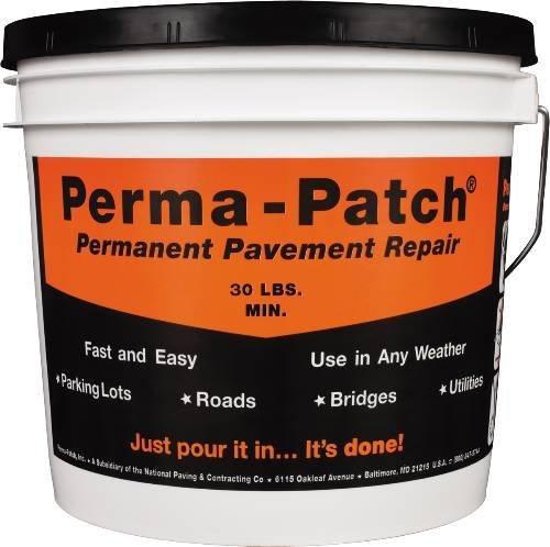 (Permanent Pavement Repair, 30 lb, Black)