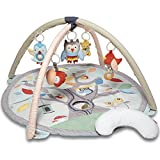 "Skip Hop Treetop Friends Baby Play Mat Activity Gym, 36"" x 19""h, Grey/Pastel"