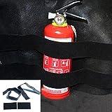 Gotd2pcs Car Trunk store content bag Rapid Fire extinguisher Holder Safety Strap Kit (2pc)