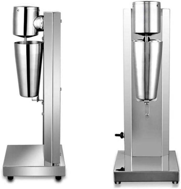 CNCEST Electric Milkshake Mixer Maker, Electric 650ml Stainless Steel Milkshake Machine Milk shaker Blender Ice Cream Maker Blender Commercial Stand Mixers 180W 110V