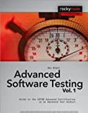 Advanced Software Testing, Rex Black, 1933952199