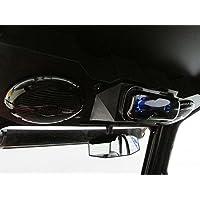 SD 4BBT2B -Polaris RZR Stereo System Bluetooth UTV Side by Side (2-6.5 marine speakers)