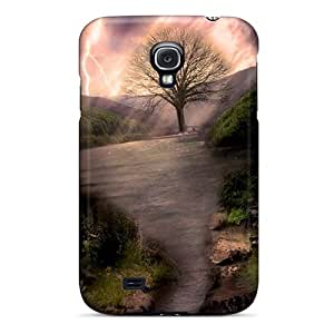 Hard Plastic Galaxy S4 Case Back Cover,hot Natural Technology Case At Perfect Diy