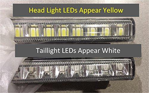 TecScan Golf Cart LED Light Kit LiTESeasy Standard W/Built-in Meter by TecScan (Image #4)