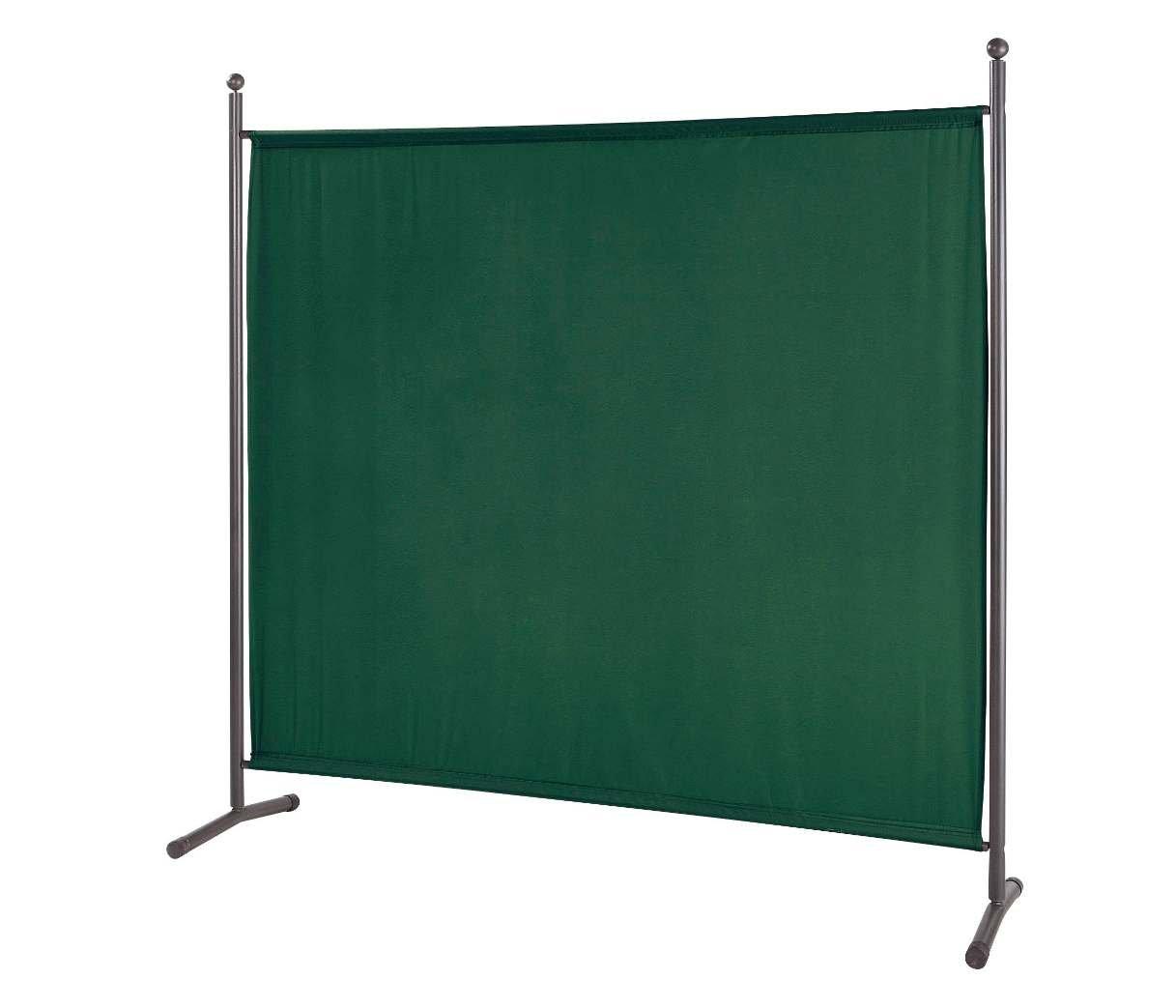 Grasekamp Stellwand 178x178cm Paravent Raumteiler Trennwand Sichtschutz Grün