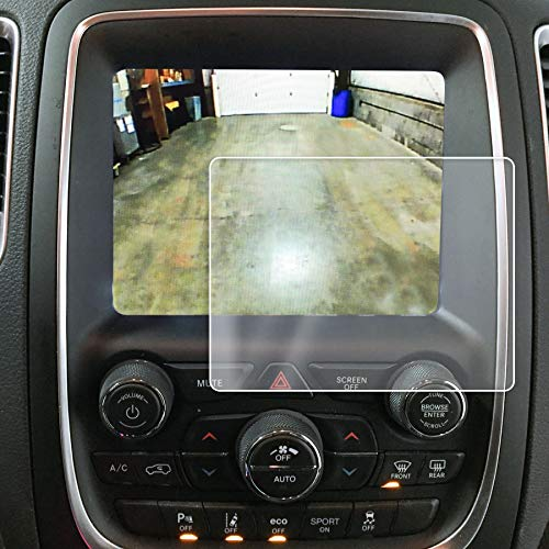 Red Hound Auto 2014-2018 Compatible with Dodge Durango Uconnect Screen Saver 1pc Custom Fit Invisible High Clarity Touch Display Protector Minimizes Fingerprinting 8.4 inch